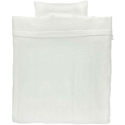 Housse de couette Bliss White (100 x 140 cm)
