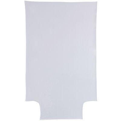 Housse de couette en coton bio gris perle (100 x 140 cm)