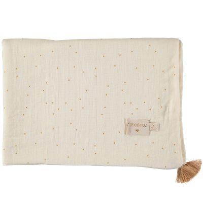 Couverture d'été bébé Honey sweet dots (70 x 100 cm)