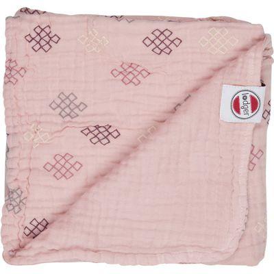 Couverture bébé en coton Dreamer Xandu Sensitive rose (120 x 120 cm)