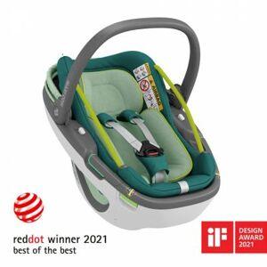 Cosy siège auto Coral 360 vert Neo Green (groupe 0+) - Publicité
