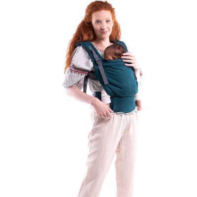 BIO + Porte bébé en coton bio Boba X Atlantic