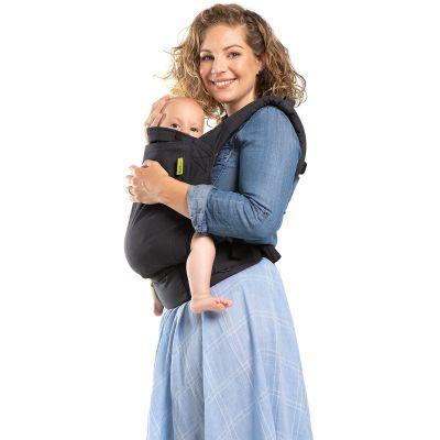 BIO + Porte bébé en coton bio Boba 4GS Slate