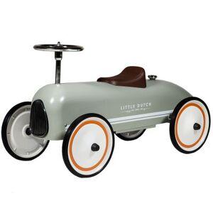 Porteur voiture retro roller Olive - Publicité
