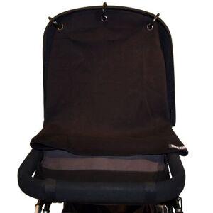 Protection pour poussette Baby Peace coton bio Uni noir - Publicité