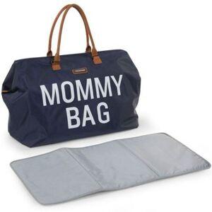 Sac à langer à anses Mommy bag bleu marine - Publicité