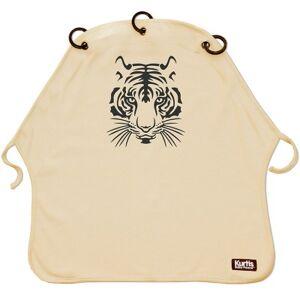 Protection pour poussette Baby Peace coton bio Tigre sable - Publicité