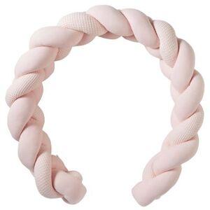 Tresse décorative rembourrée rose blush Mix & Match (200 cm) - Publicité