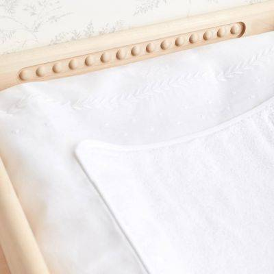 Housse de matelas à langer Linge d'antan (55 x 75 cm)