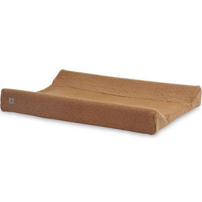 Housse de matelas à langer Bliss knit caramel (50 x 70 cm)
