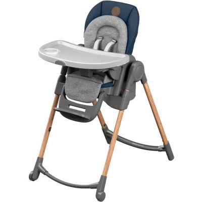 Chaise haute évolutive Minla Essential bleue