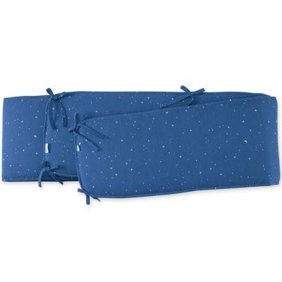 Tour de parc constellations Stary bleu jean (75 x 95 cm)