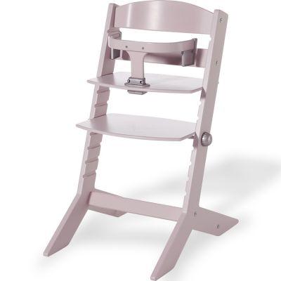 Chaise haute évolutive Syt rose