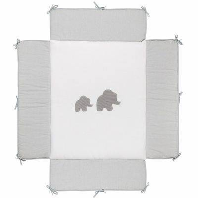 Tapis de parc Tembo gris (75 x 95 cm)