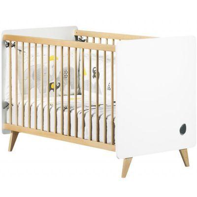 Lit bébé évolutif en lit junior Little Big Bed Oslo (70 x 140 cm)