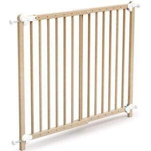 Barrière de sécurité extensible en bois de hêtre verni Essentiel - Publicité