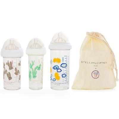 Lot de 3 biberons anti colique gigognes Stella McCartney (360 ml et 210 ml)
