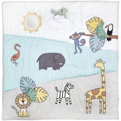 Tapis d'éveil réversible Safari