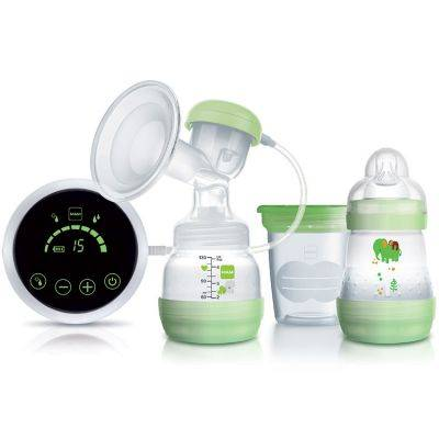 Tire-lait 2 en 1 électrique et manuel vert