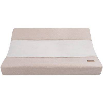Housse de matelas à langer beige Sparkle (45 x 70 cm)