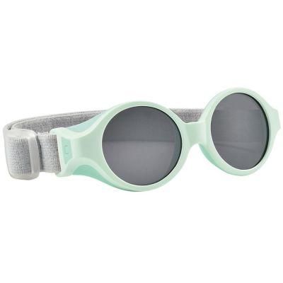 Lunettes de soleil bandeau vert d'eau (0-9 mois)