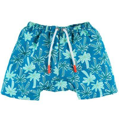 Maillot de bain short double protection Explore imprimé tropical (12 mois)