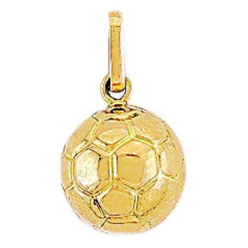 Pendentif Ballon de foot (or jau...