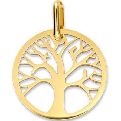 Médaille Arbre de vie ajouré (or jaune 750°)