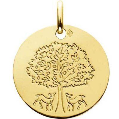 Médaille Arbre de Vie (or jaune 750°)