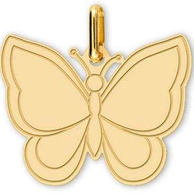 Pendentif Papillon (or jaune 750°)