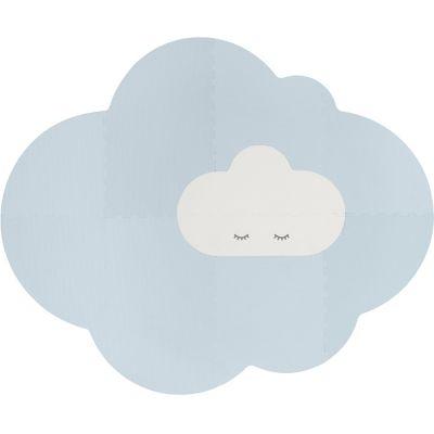 Tapis de jeu pliable nuage bleu ciel (175 x 145 cm)