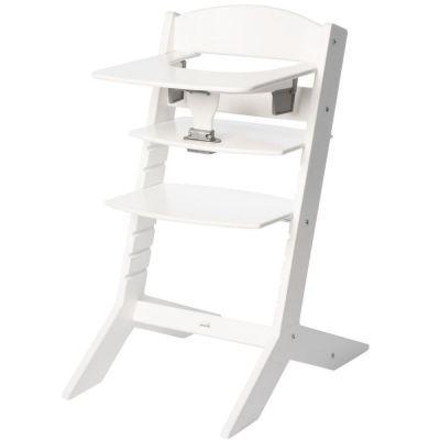 Chaise haute Syt évolutive blanche