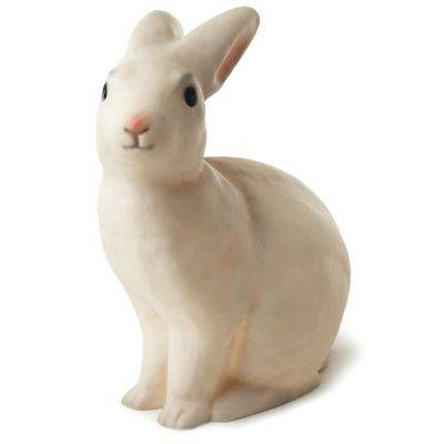 Veilleuse lapin blanc