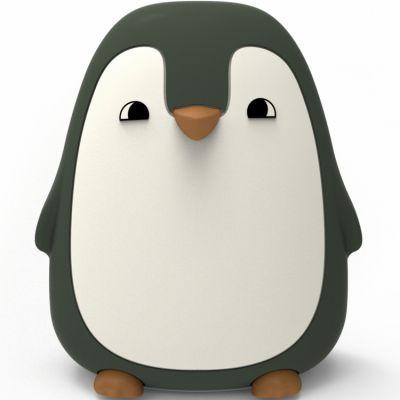 Veilleuse pingouin kaki (13 cm)