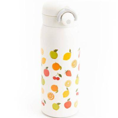 Thermos Gourde isotherme Fruits (450ml)