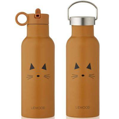 Thermos Gourde isotherme Neo Chat mustard (500 ml)