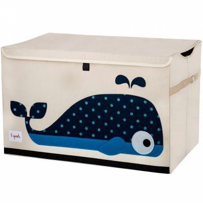 Coffre à jouets caisse de rangement Baleine