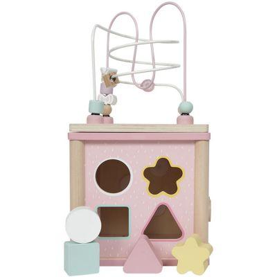 Cube d'activités Adventure pink