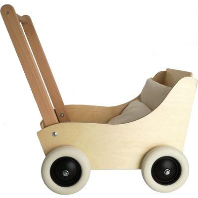 Landau pour poupée en bois