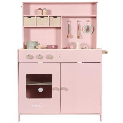 Grande cuisine en bois pink