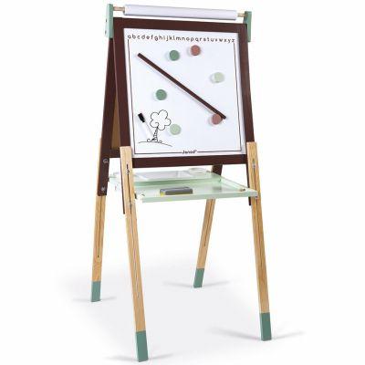 Tableau à dessin réglable taupe et vert
