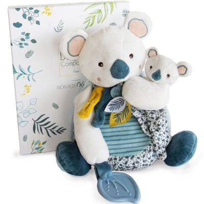 Coffret peluche d'activités Yoca le koala et son bébé (20 cm)