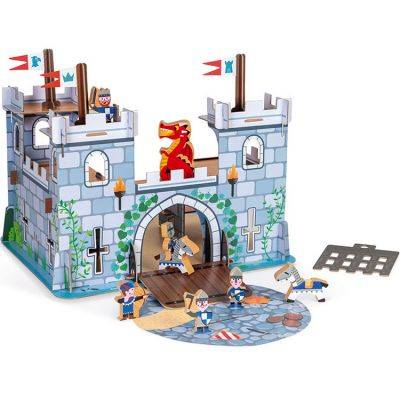 Château fort avec figurines Story