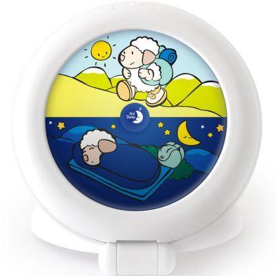 Veilleuse indicateur de réveil Kid'Sleep Globetrotter blanc