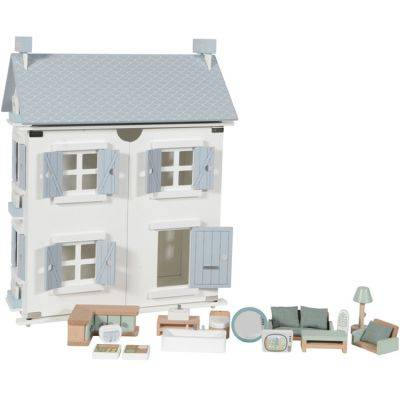 Maison de poupée blue