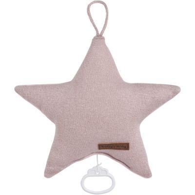 Sparkle Peluche musicale étoile Sparkle rose (30 cm)