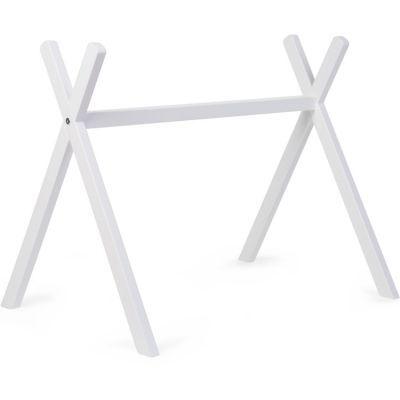 Arche d'activités en bois Tipi Gym blanc