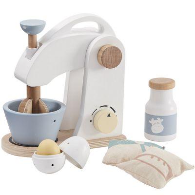 Robot pâtissier et accessoires en bois