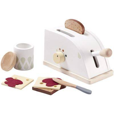 Grille-pain et accessoires en bois