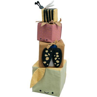 Cubes à empiler en coton bio verger